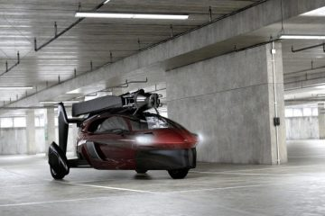 Pal-v voiture volante au parking