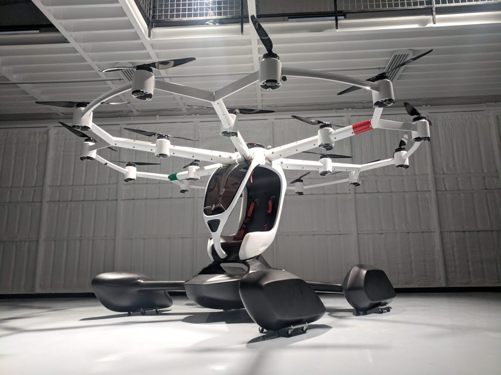 Lift Hexa vtol hangar