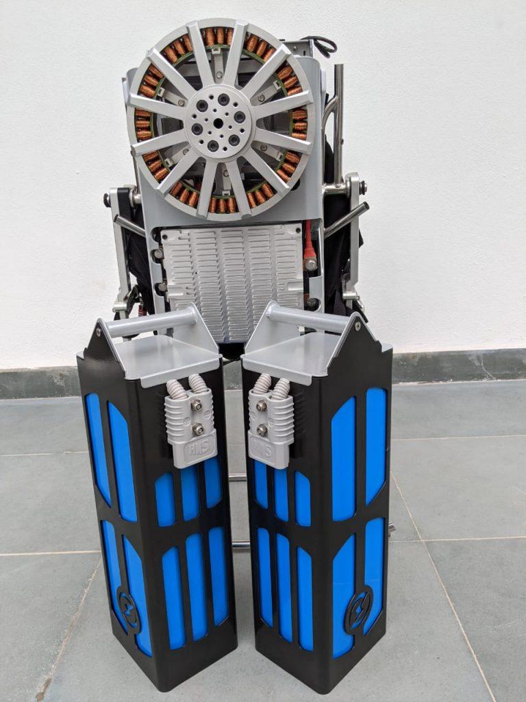 les batteries du moteur électrique marathon