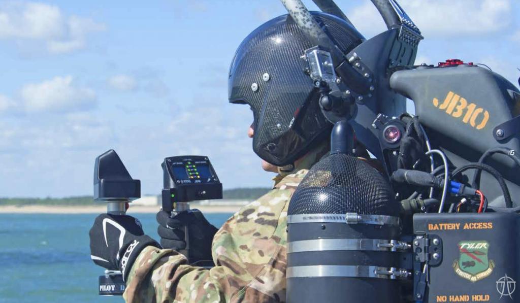 formation jetpack détail de l'équipement
