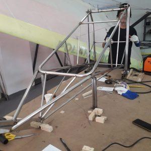 chassis new polaris 2020 en construction