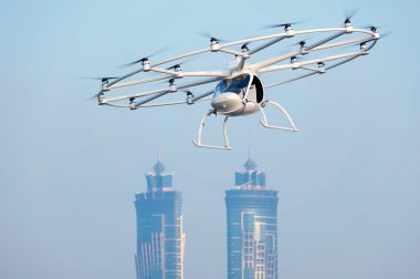 Volocopter 2X tours decollare vertical