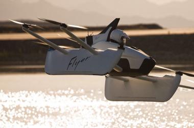 flyer kittyhawk vol catamaran decollate vertical